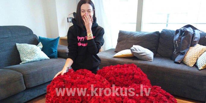 1001 роза для Ольги Бузовой