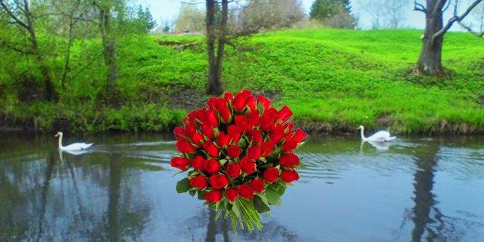 Доставка цветов Ужава (Латвия). Купить цветы в Ужаве