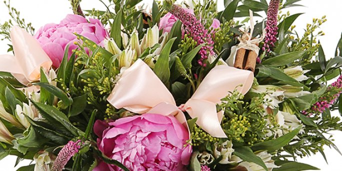 Make an order for cheap flower delivery same day in Riga (Latvia)