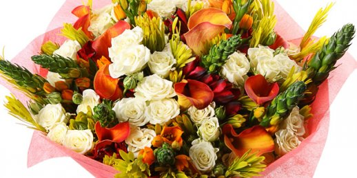 Order of cheap flowers online with delivery to the address in Riga and other Latvian cities