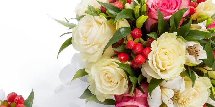 To buy flowers online cheap with delivery to Riga and other Latvian cities