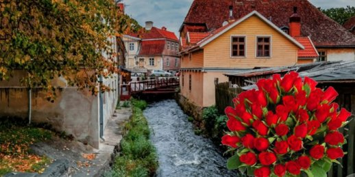 Ziedu piegāde Kuldīga (Latvija). Nopirkt ziedus Kuldīgā