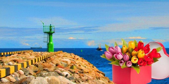 Ziedu piegāde Mērsrags (Latvija). Nopirkt ziedus Mērsragā