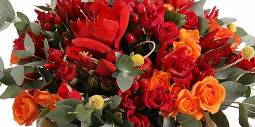I need flowers delivered today at the address in Riga (Latvia)!