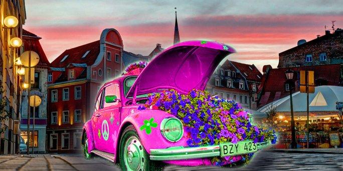 Круглосуточная доставка цветов в Риге