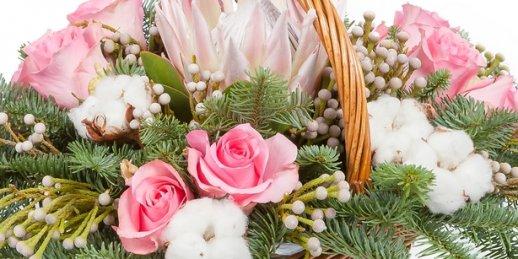Labākie ziedi internetā par izdevīgām cenām. Pirkt ziedus internetā
