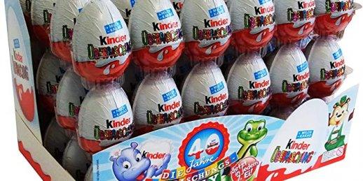 Nopirkt kinder olas Rīgā par pieejamām cenām