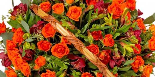 Pasūtīt ziedu piegādi nākamajā dienā uz Rīgu un visu Latviju ir ātri un vienkārši!