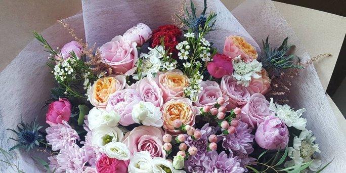 Заказ цветов с доставкой по Риге