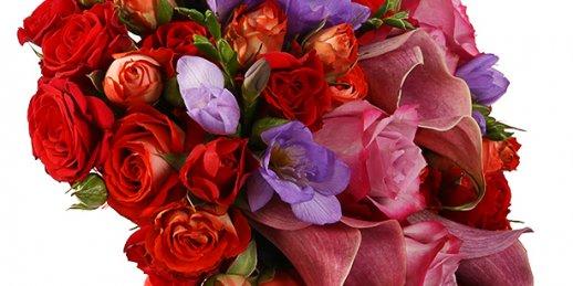 Lēta ziedu piegāde tajā pašā dienā. Svaigi pušķi ar piegādi uz mājām