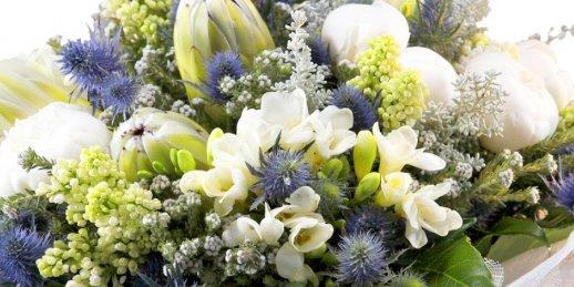 Ātra ziedu piegāde tajā pašā dienā. Iegūstiet svaigu pušķi jau pēc 2-3 stundām!