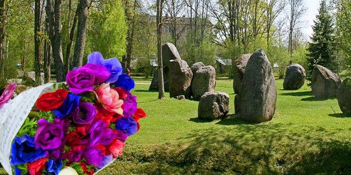 Доставка цветов Балви (Латвия). Купить цветы в Балви