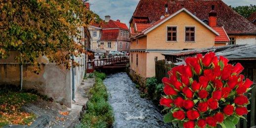 Доставка цветов Кулдига (Латвия). Купить цветы в Кулдиге