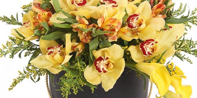 Доставка цветов Рига: Как преподнести увлекательный подарок начальнице?
