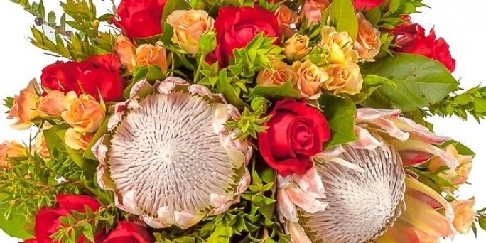 С чего начать заказ цветов в Риге: букет ирисов?