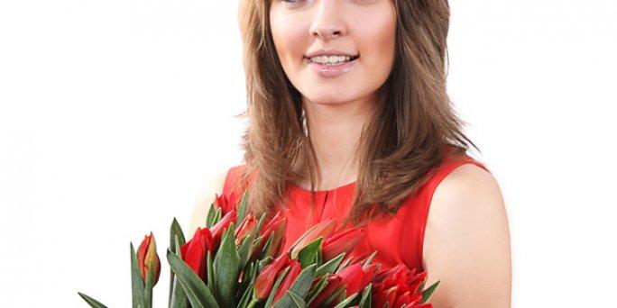 Как заказать цветы с доставкой в Риге: фрезия.