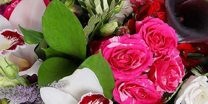 Заказ цветов Рига: Как купить уникальный подарок жене?