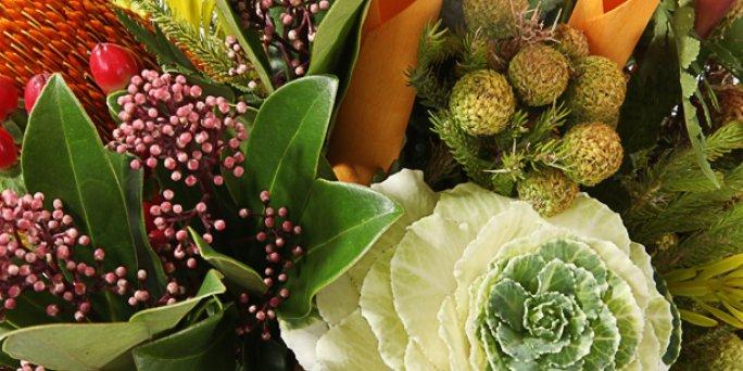 С чего начать выбор букета в Риге: букет из фруктов купить?