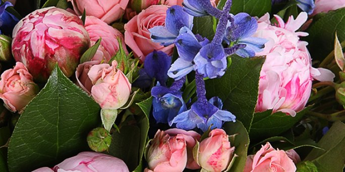 Заказ цветов Рига: букет на 1 сентября.