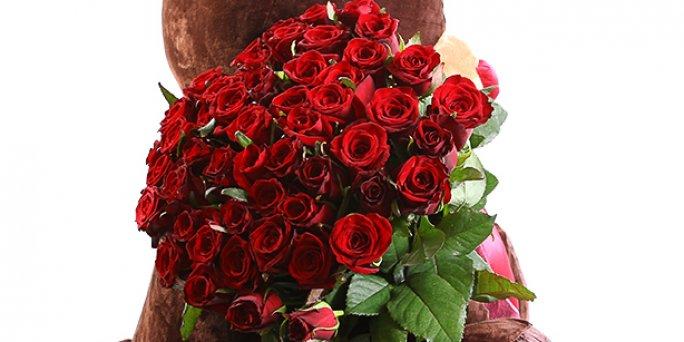 Как покупать цветы в Риге: корзины цветов.