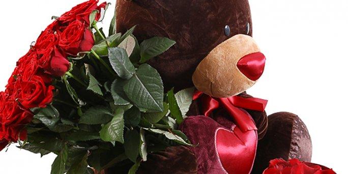 Как заказать с доставкой цветы в Риге: букет мужской .