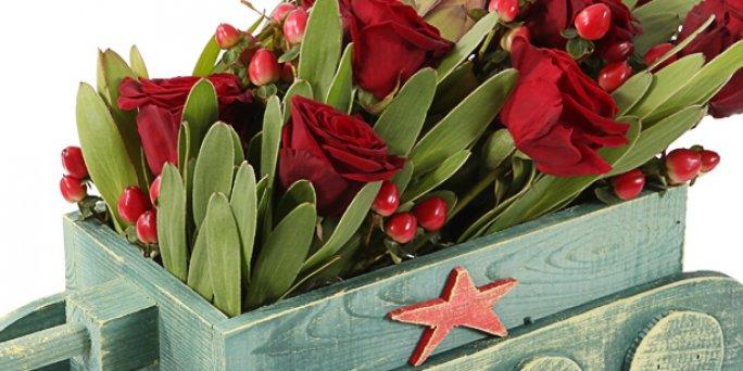 Подарок, поднимающий настроение: Где заказать цветы в Риге?