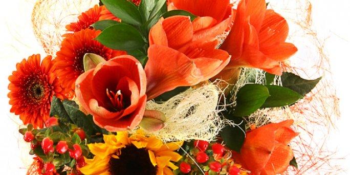 Доставка цветов Рига: Какие цветы купить на свадьбу?