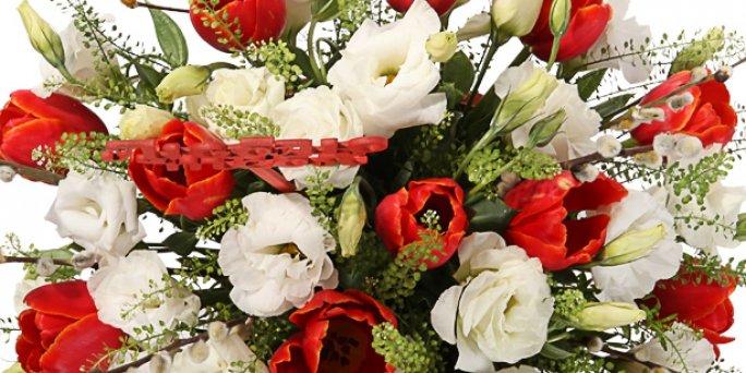 Заказать цветы в Риге: шикарные букеты роз.