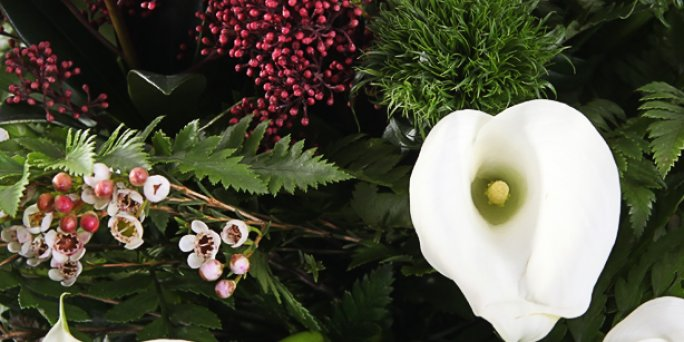 Как заказать с доставкой цветы в Риге: букет пионов.