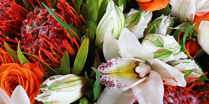 Где заказать цветы с доставкой в Риге: стильные букеты .
