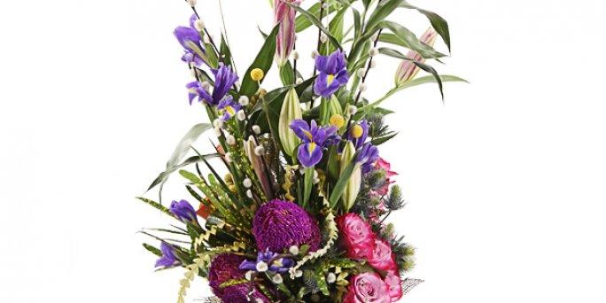 Как заказать цветы с доставкой в Риге: пионы в риге.