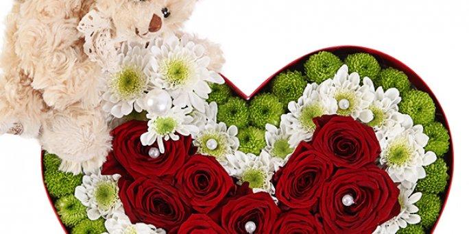 С чего начать выбор подарка в Риге: белые розы 50 см?