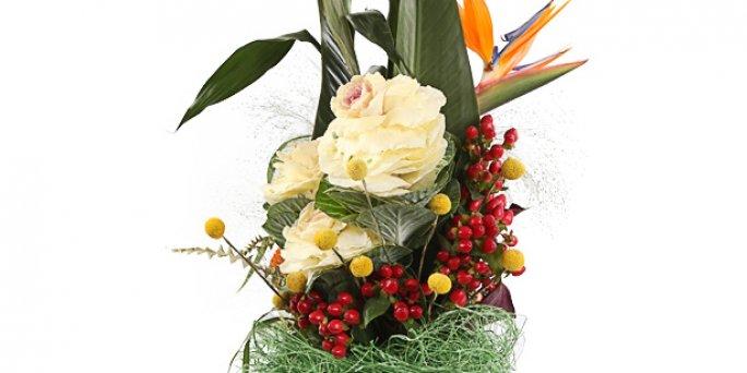 Заказать цветы в Риге: 25 белых роз.