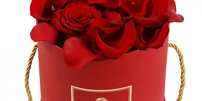 Как заказать с доставкой цветы в Риге: цветы в коробках.