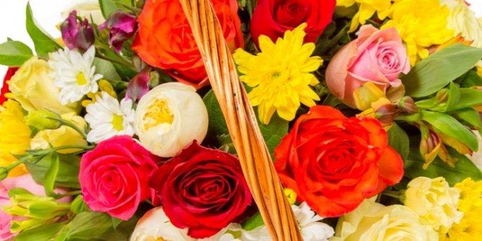С чего начать поиск букета в Риге: желтые розы ?