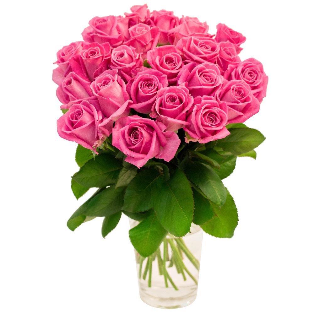 Розовые букеты роз фото