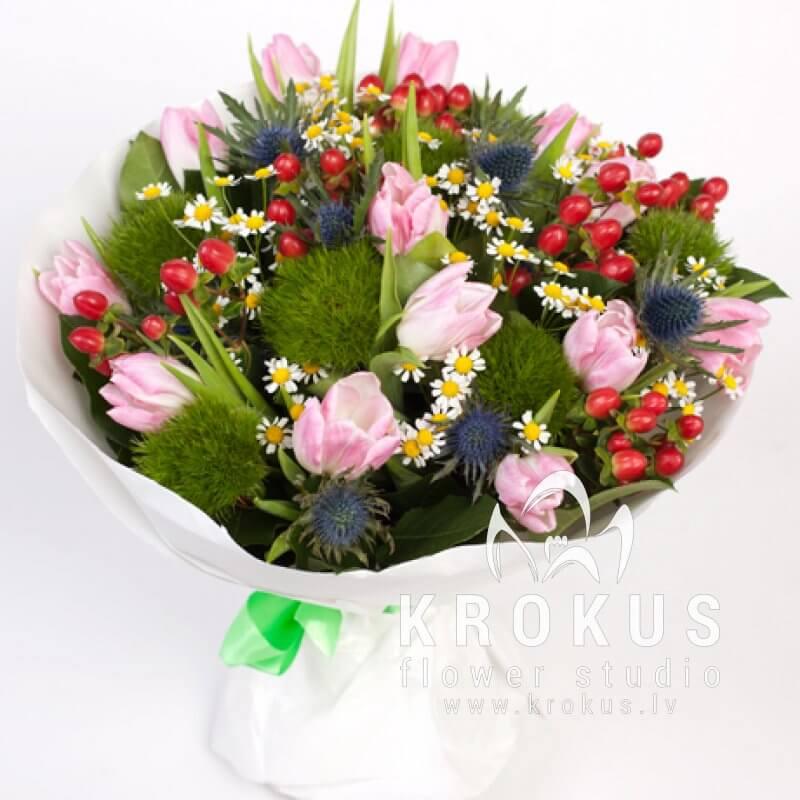 Заказ букеты из весенних цветов фото, цветов эконом