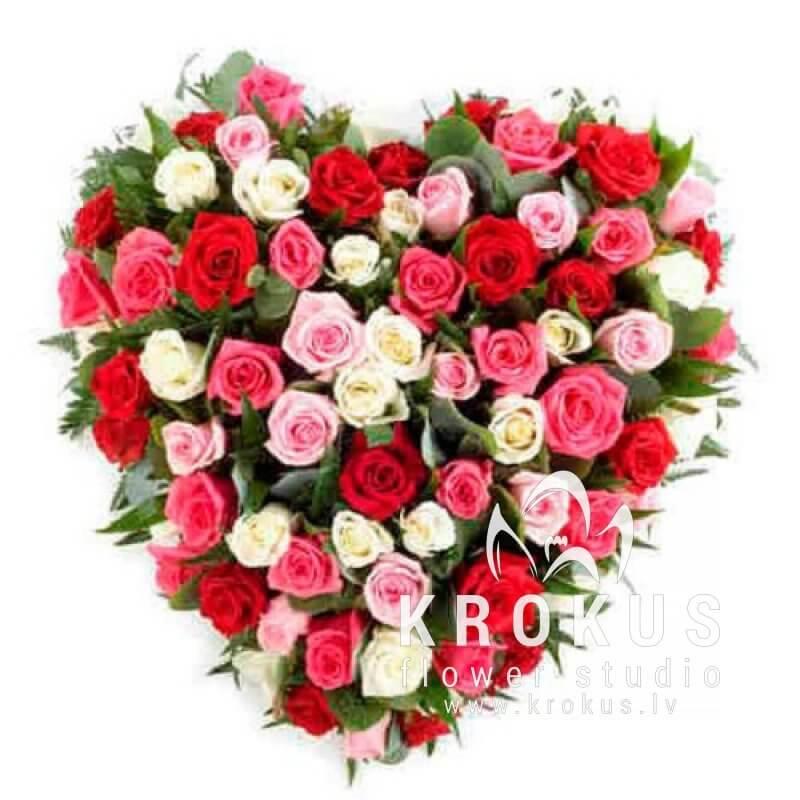 Цветок в виде сердца