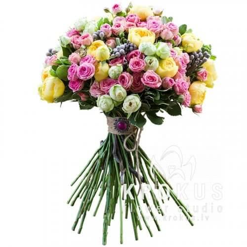 Купить цветы московском подарок курящей женщине на день рождение