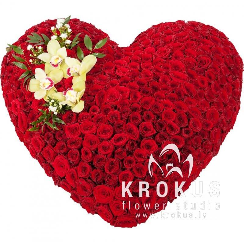 Красивый букетик цветов для любимой
