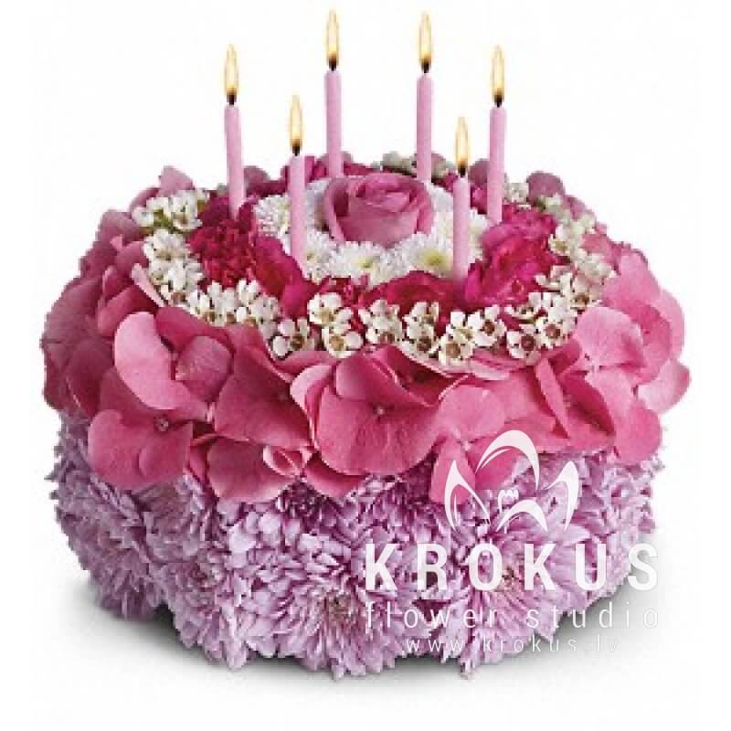 Astounding A Purchase Of A Birthday Cake Bouquets Of Flowers At The Best Personalised Birthday Cards Veneteletsinfo