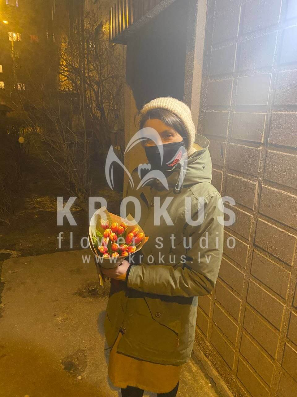 Deliver flowers to Rīga (tulips)